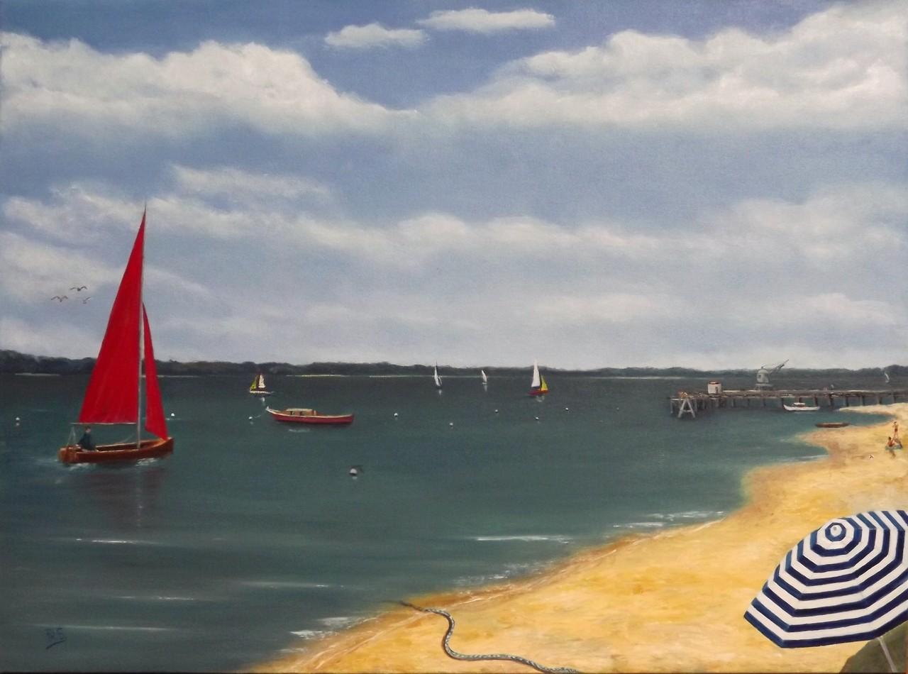 bord de mer à Arcachon