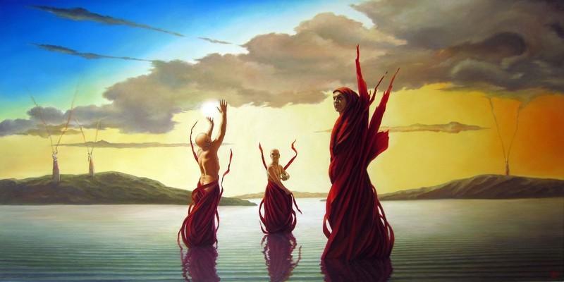 danse des âmes libérées