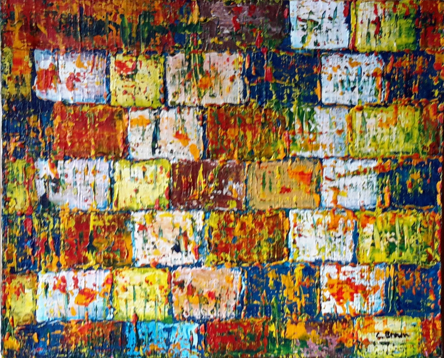 vieux mur décrépi