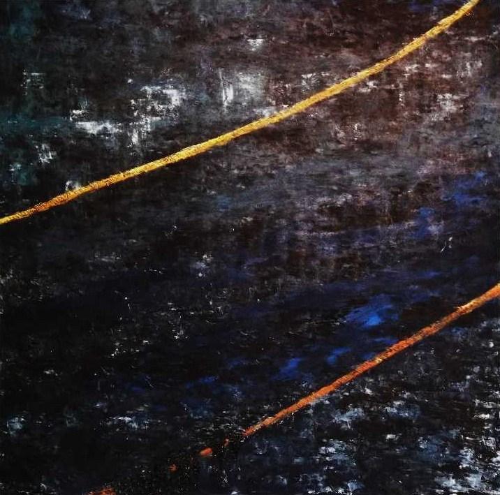 Port des Brochets, les flots sous cordages de jade noir