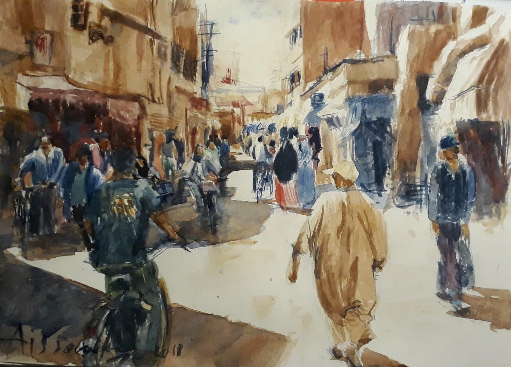 À la place Assarag Taroudant