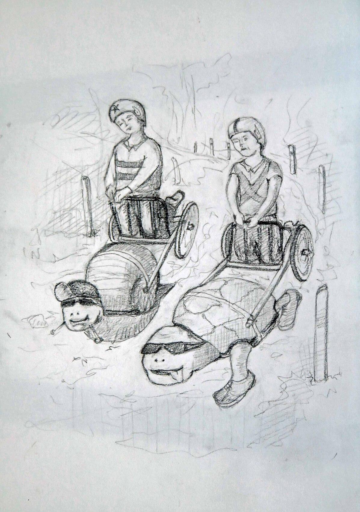 L'escargot et la tortue en formule 1