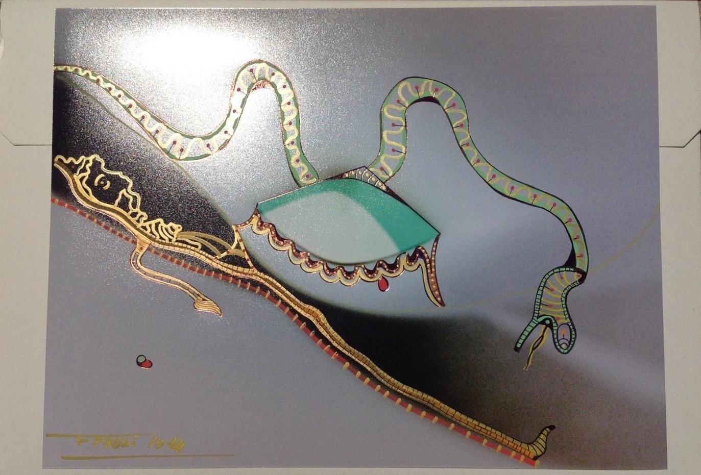 Peinture le serpent - Peinture effet serpent ...