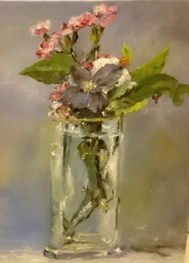 Peinture Les Fleurs De Manet