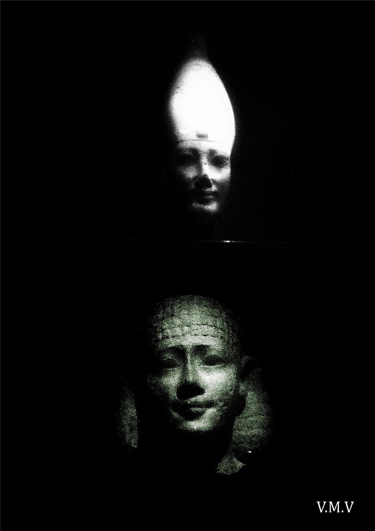 """Visages égyptiens"" de Vanessa Martinez Volterra"