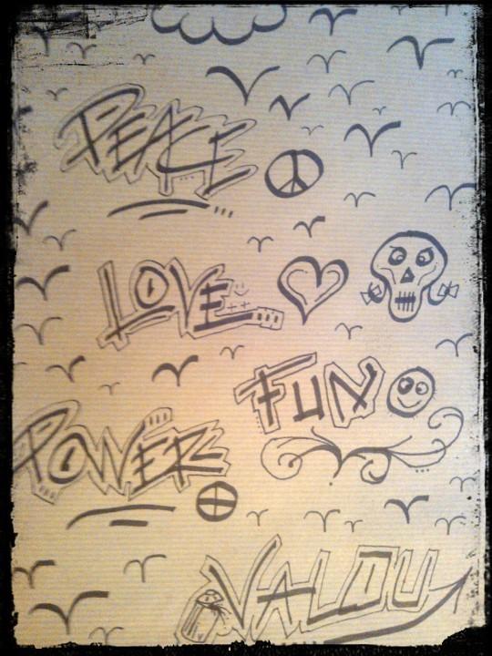 Dessin peace and love - Dessin peace and love ...