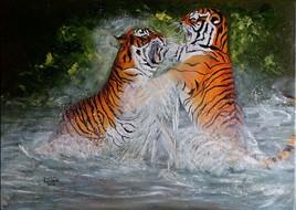 Explication entre tigres