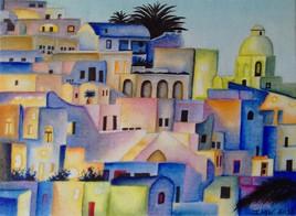- Marrakech - (aquarelle)