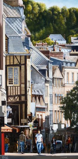 Rouen ses rues