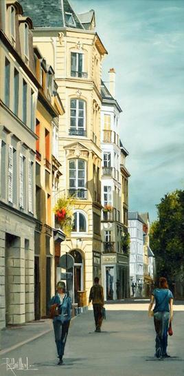 Rouen rue de la Chaîne