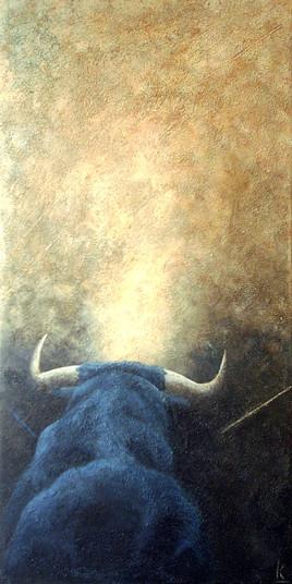 El toro azul