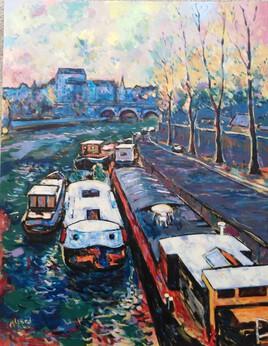 Paris, dernières lueurs
