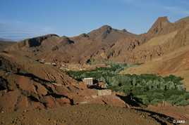 gorges du Dades-Maroc