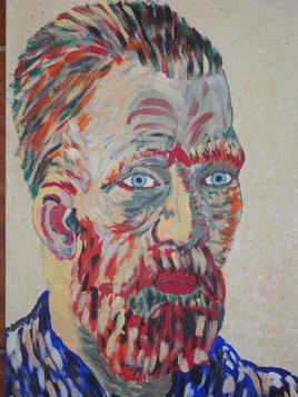 Autoportrait de Van Gogh peintre