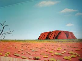 Uluru en trompe l'oeil