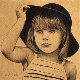 Portrait d'enfant n°3