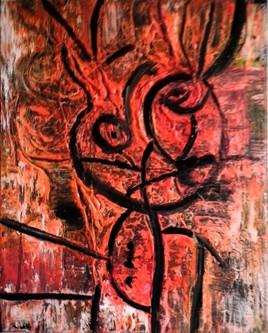 Tableau  Art Abstrait  (5)