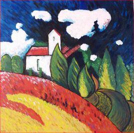 Clin d'oeil à Kandinsky