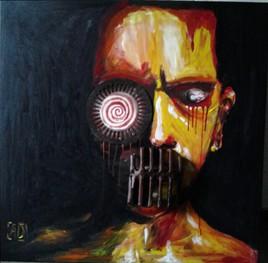 Peinture zombie