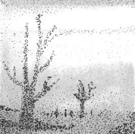Hyver en pointillisme