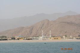 Dibba, en mer d'Oman