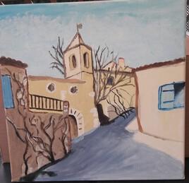 Village perdu dans le pays de Giono