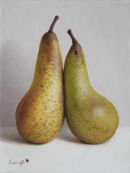 Un couple de poires (18 cm x 14 cm) 0F