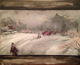 Le départ du samouraï