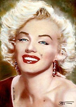 Marilyn Monroe pastel