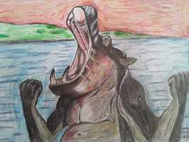 La colère de l'hippopotame