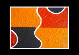 long way 05 | Twagirumukiza | sculpture | bas relief