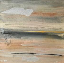"""Ballon jaune (modification """"paysage dans la brume"""")"""