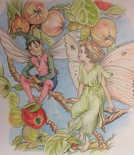 La libellule et le papillon