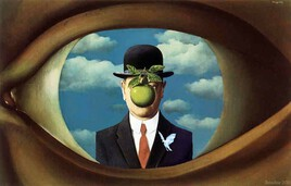 l'univers de Magritte..