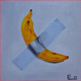 La banane scotchée