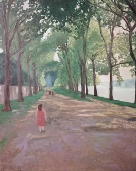 Beau Temps à la Pièce D'eau (Versailles)