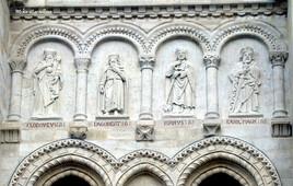 Détails des rois carolingiens Basilique de Saint6denis