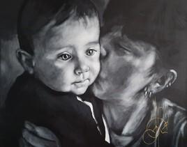 """""""L'enfant ou la tendresse d'une mère"""" (2021.10.19)"""
