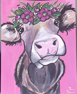 Lala the cow