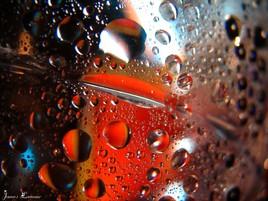 Goutelettes d'eau