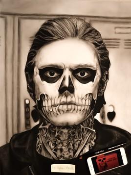 Tate Langdon (Evan Peters) American horror story