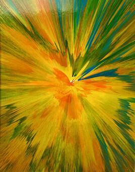variations  colorées - expulsions cinétique N°5