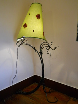 Lampe forgée