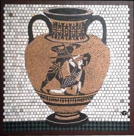 Le combat d'Achille et de Penthésilée