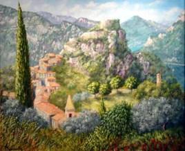 village de Gilette