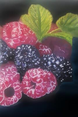 Un délice de fruits rouges