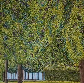 Libre interprétation du Parc de Klimt