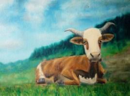 Ho la vache !