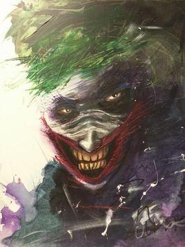 Le sourir Du joker