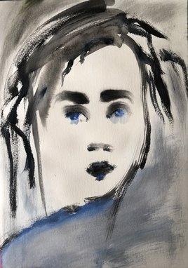 Bleue d'emotion
